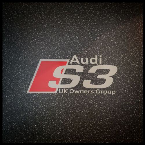 """OFFICIAL"" AUDI S3 UK OWNERS GROUP STICKER"